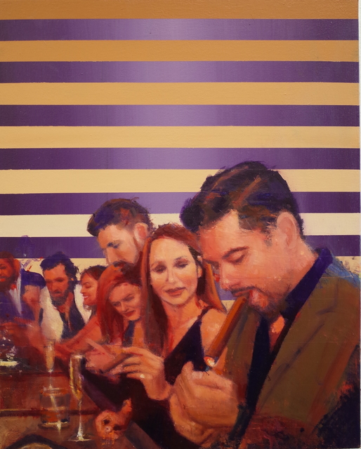 Tom Birkner, 'Tough Couple', 2018, Asher Grey Gallery