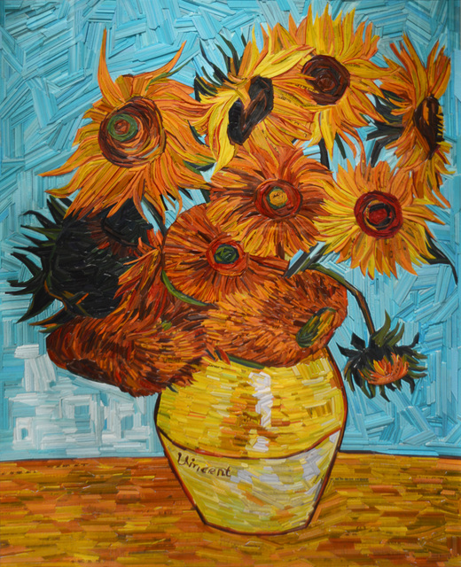 Kyu-Hak Lee, 'Monument: Van Gogh Sunflowers', 2019, Guarisco Gallery