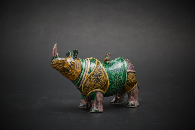 , '21. Small Rhino (colors),' 2017, Sladmore Contemporary