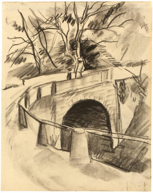 , 'Brücke über den Bach,' 1913, Galerie Utermann