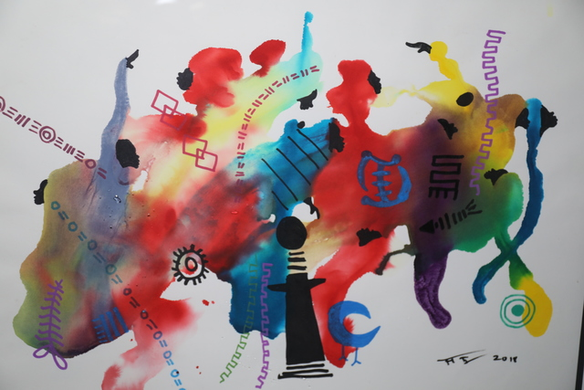Frank Frazier, 'Color and Symbols', 2018, 73 See Gallery