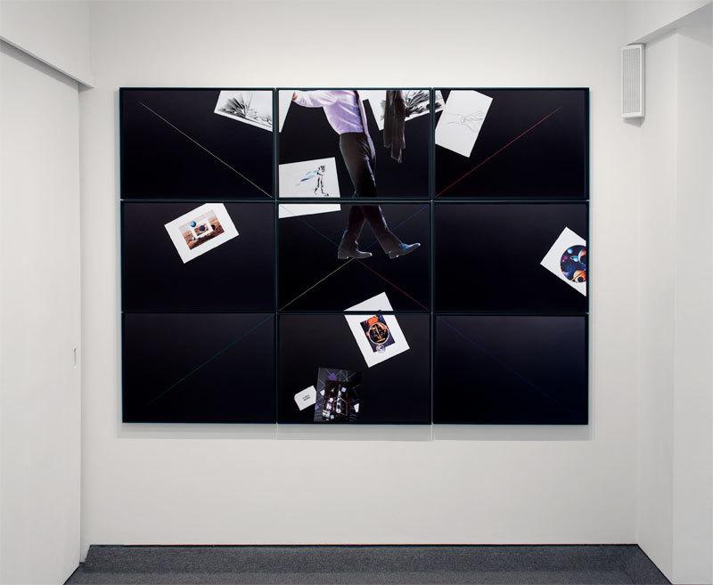 """Giulio Paolini """"Carte Noire"""", 1999-2000"""
