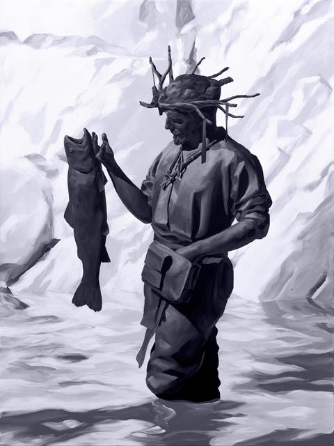 , 'Fishing,' 2018, ArtCN