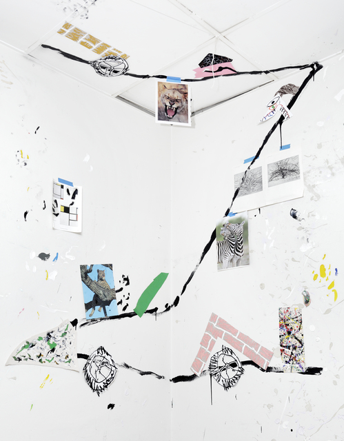 , 'Untitled, Studio Corner, 7.56pm, Thursday 28 February 2019,' 2019, Stevenson