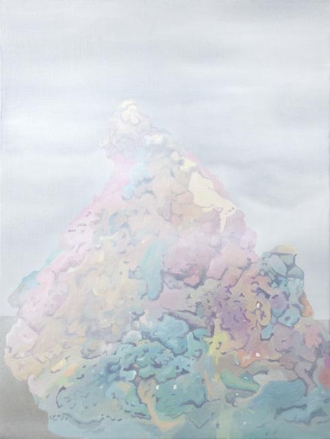 , 'sand blob (fog),' 2017, HATHAWAY | Contemporary Gallery