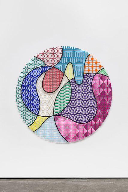 , 'Pattern Kinship, moon,' 2019, Wentrup