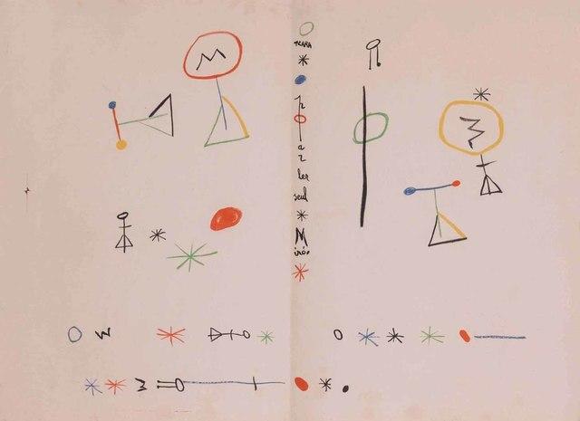 Joan Miró, 'Parler Seul', 1948-1950, Leclere