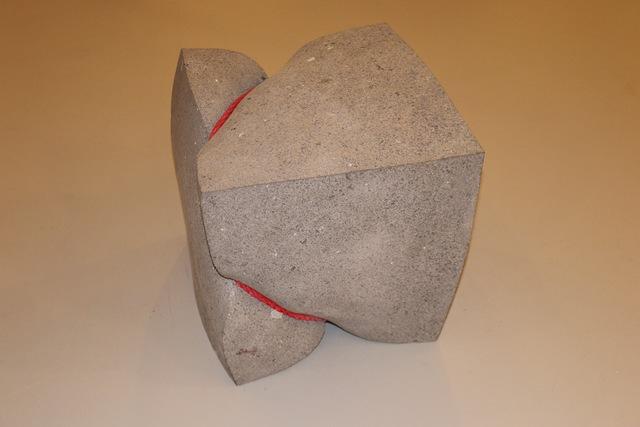 , 'Bondage-Quader,' 2017, Galerie Floss & Schultz
