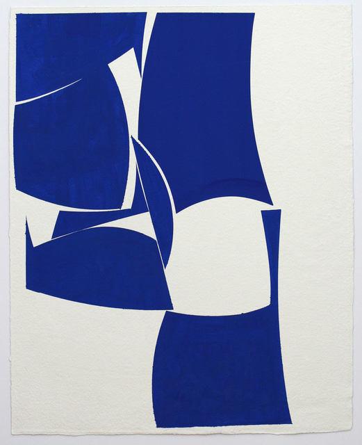 Joanne Freeman, 'Blue 30x24', 2019, Kathryn Markel Fine Arts