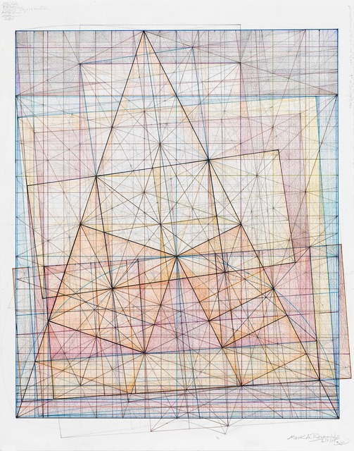 , 'Minor Third Series: Dance of the Root Two, 2.1.15,' 2015, Pierogi