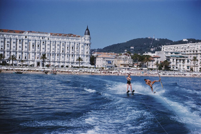 , 'Cannes Watersports, Carlton Hotel,' 1958, IFAC Arts