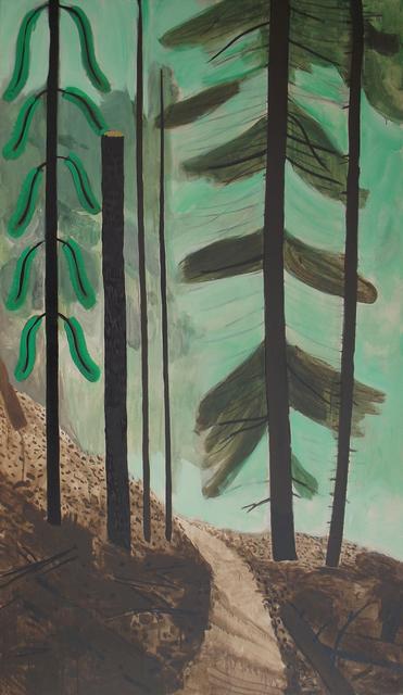 , 'Path in the Pines,' 2016, Tayloe Piggott Gallery