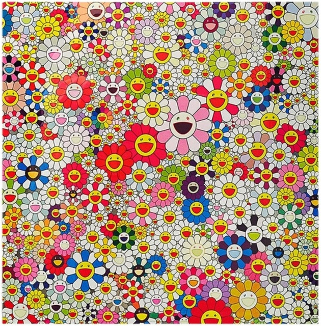 Takashi Murakami, 'Flowers in Heaven', 2010, Print, Offset lithograph with colours, on wove paper, Lougher Contemporary