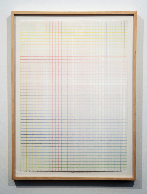 , 'Color Climate: 36 Vertical Lines, 50 Horizontal Lines,' 1997, Minus Space