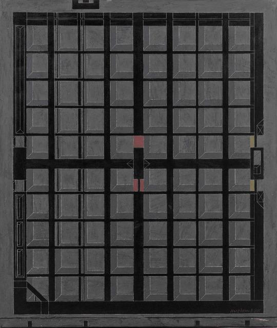 ", '""Water intake structure"" 1,' 2011, Krokin Gallery"
