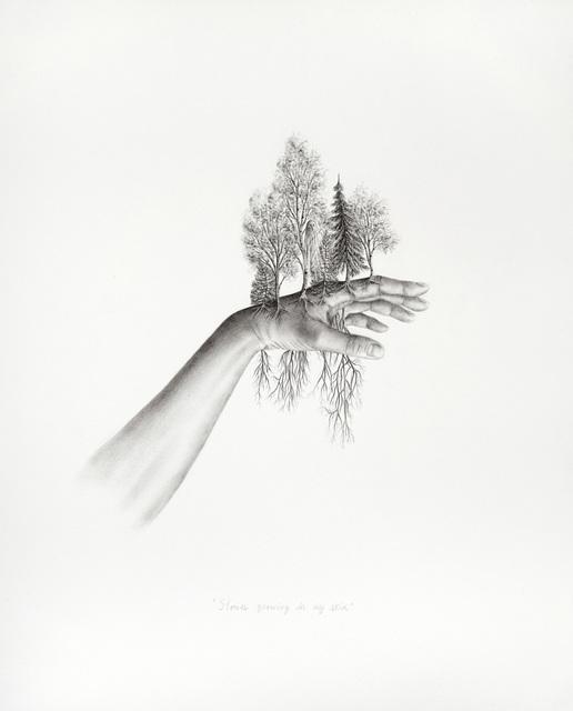 , 'Stories growing in my skin,' 2018, Galerie D'Este