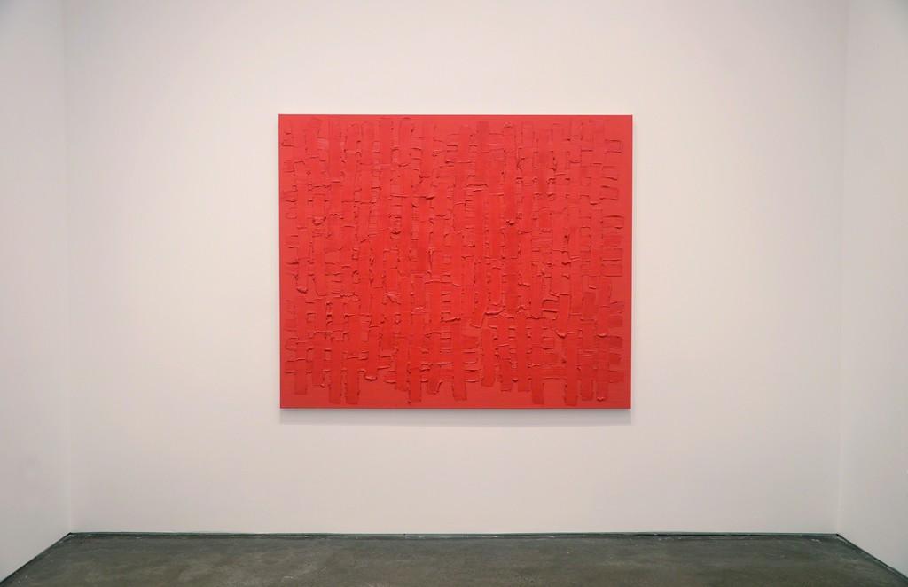 Installation view of Brant / Brennan / Zinsser (painting by John Zinsser)
