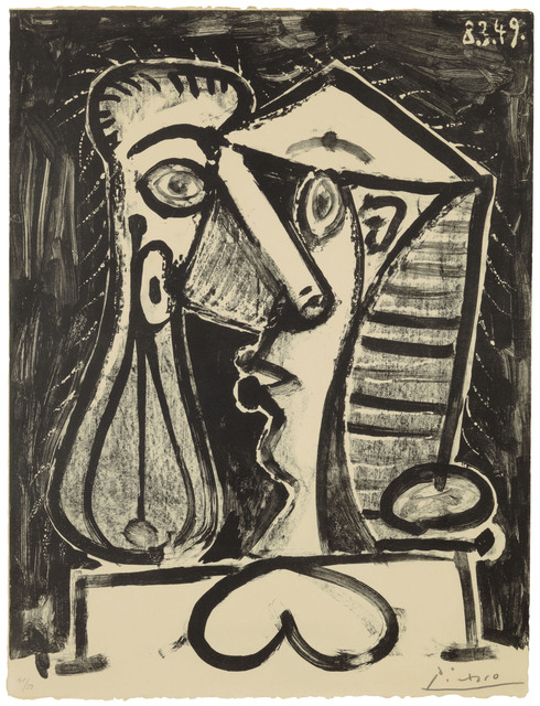 Pablo Picasso, 'Figure composée II', 1949, Christie's