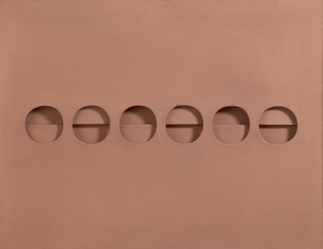 , 'Intersuperficie curva dal rosa,' 1966, Robilant + Voena