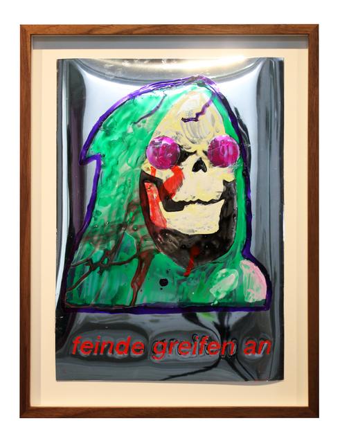 , 'Maske 4,' 2018, Galerie Judith Andreae