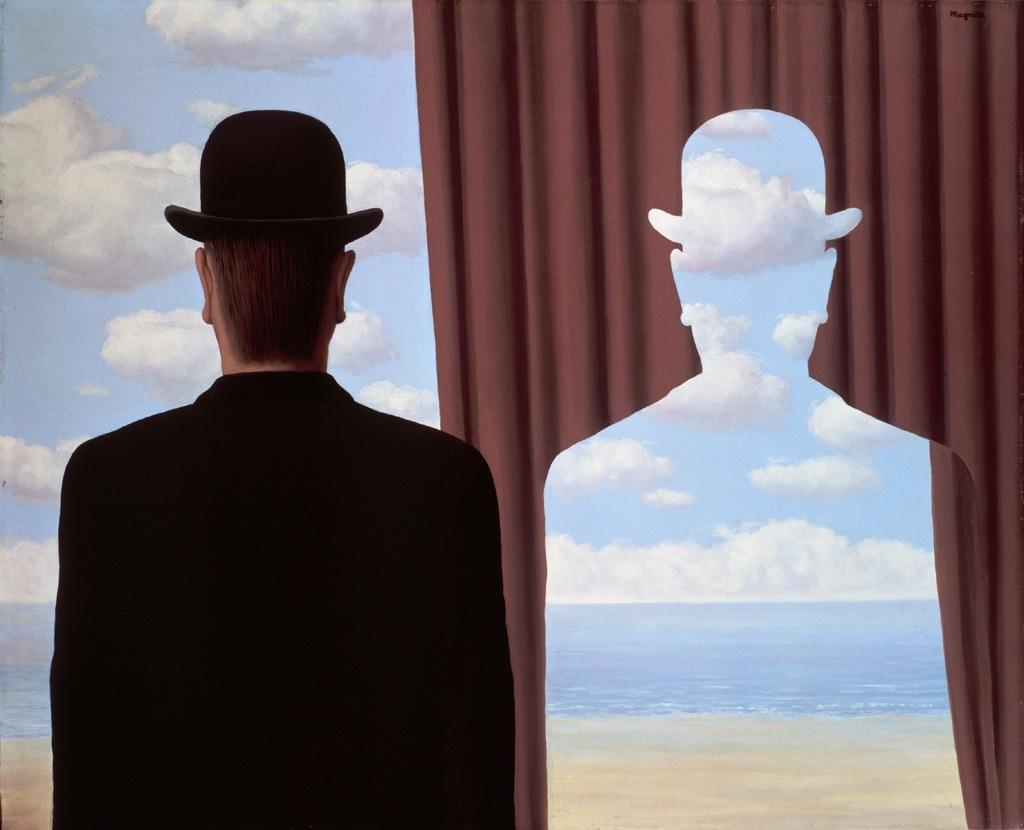 René Magritte La Décal Anie 1966