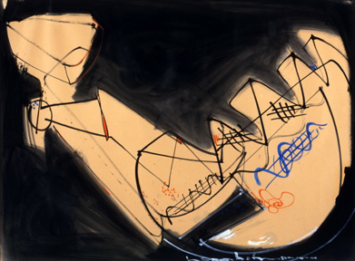 , 'Abstraction,' 1945, Adelson Cavalier Galleries