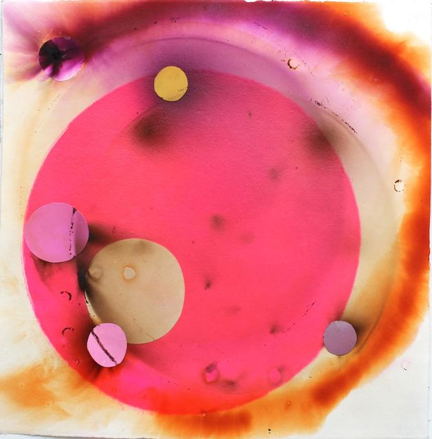 , 'Smoke Painting Eclipse Pink #11,' 2015, Orth Contemporary