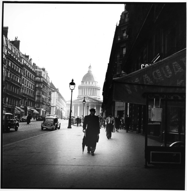 , 'Street Scene near la Madeleine, Paris,' 1950, Artist's Proof
