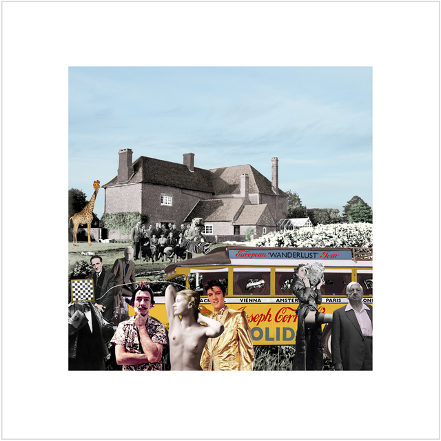 Peter Blake, 'Elvis visits Farley Farm', 2019, Paul Stolper Gallery