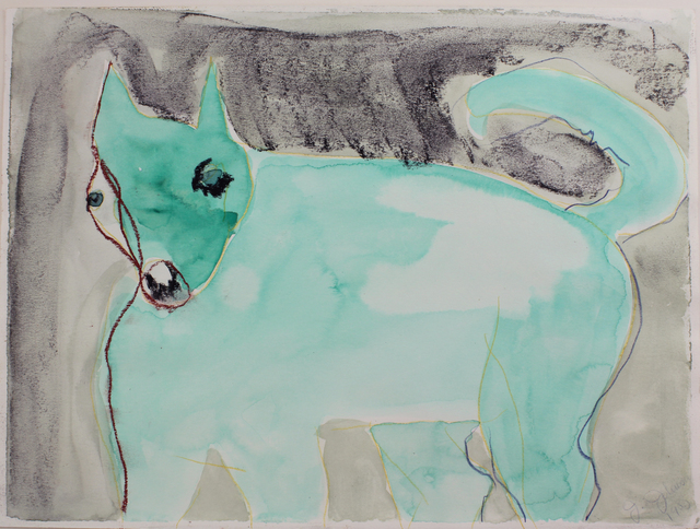 Jane Johnson, 'Puff - Dog Next Door (#236)', 1990's, LongHouse Reserve Benefit Auction