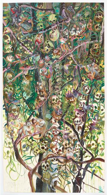 , 'Kopfbaum 9,' 2016, Galerie Klaus Gerrit Friese