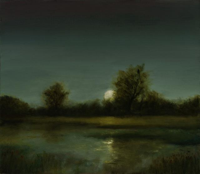 , 'Moon Over Marsh,' 2018, Sullivan Goss