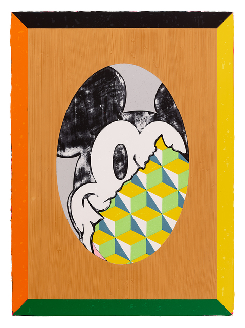 Lai Chiu-Chen, 'Extremely Rational Mickey', Painting, Acrylic on canvas, Lin & Lin Gallery