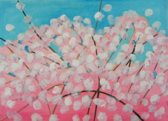 , 'Cherry Blossoms,' 2012, The Page Gallery