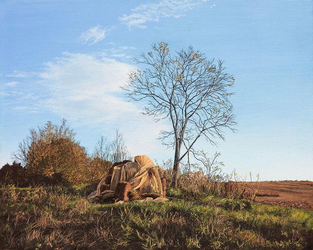 , 'Field's Edge,' 2017, William Baczek Fine Arts