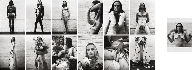 , 'Selfperformance (Installation including 13 works),' 1972-1973, Suzanne Tarasieve