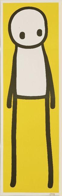 Stik, 'Standing Figure (Yellow)', 2015, Sworders