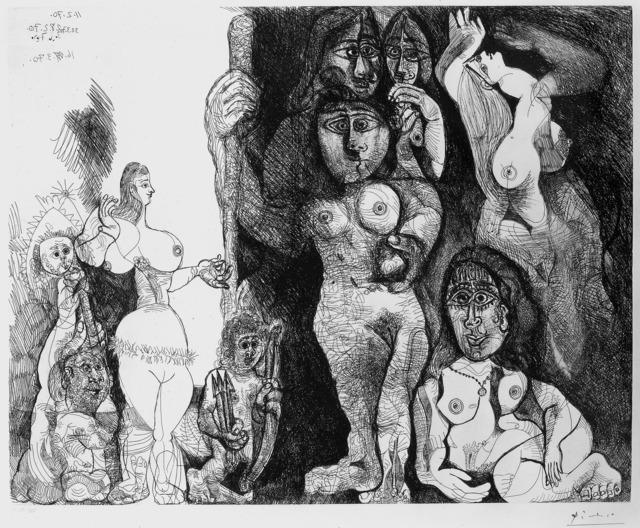 , 'Le théatre de Picasso: Eros et les femmes,' 1970, R. S. Johnson Fine Art