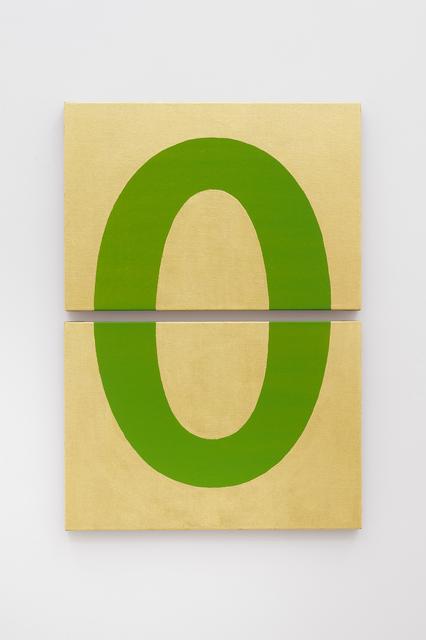 Darren Almond, 'Divided Icon (Green)', 2018, Alfonso Artiaco