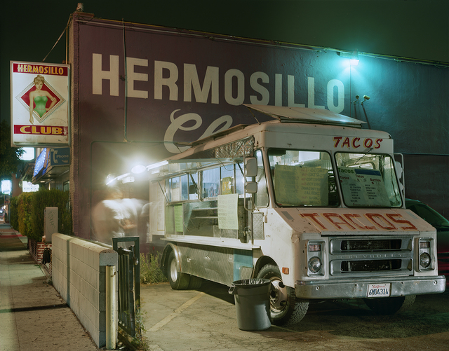 , 'Taco Truck Outside a Club, Highland Park, Los Angeles, California,' 2009, Robert Klein Gallery