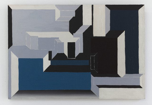 , 'Blue and Maroon Portal,' 1969, Fisher Parrish Gallery