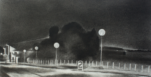 , 'Study, End of the Road,' 2013, Barry Whistler Gallery