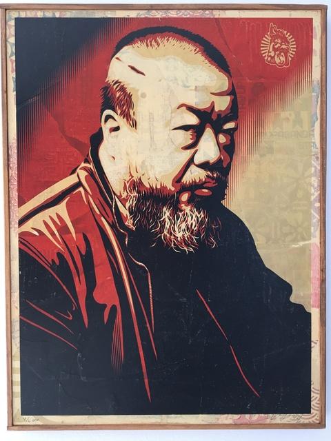 Shepard Fairey (OBEY), 'Ai Weiwei', Galerie C.O.A