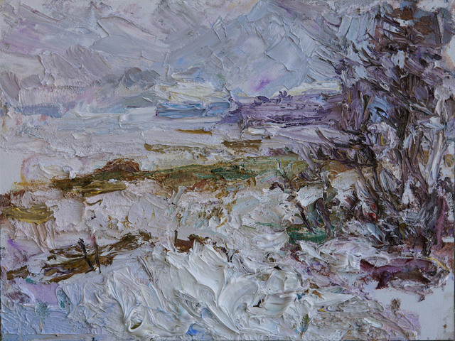 , 'Winter Day, Frozen Shoreline,' 2017, Gallery 1261