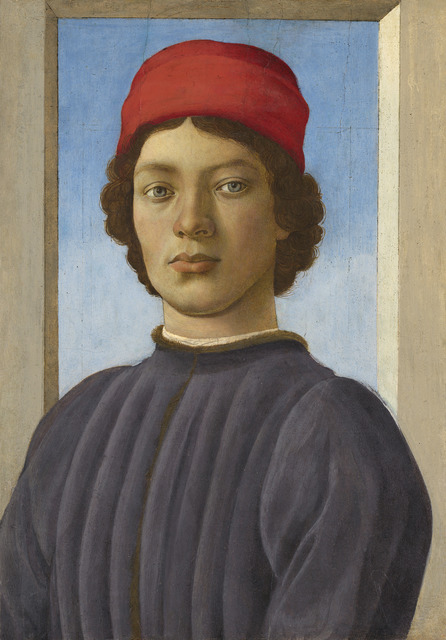 Filippino Lippi, 'Portrait of a Youth', ca. 1485, National Gallery of Art, Washington, D.C.