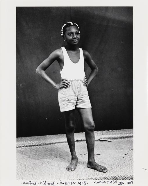 , 'Actrice biénal jeunesse Mali,' 1976, Jack Shainman Gallery