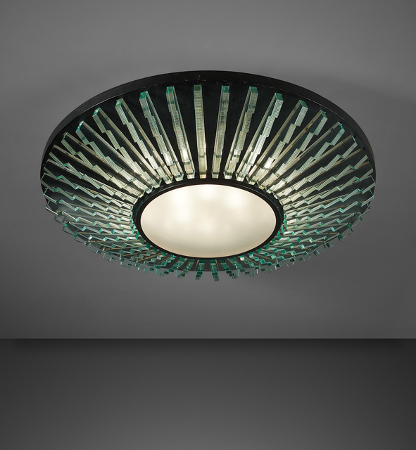 Max Ingrand, 'Ceiling light, model no. 2077/1', circa 1958, Phillips