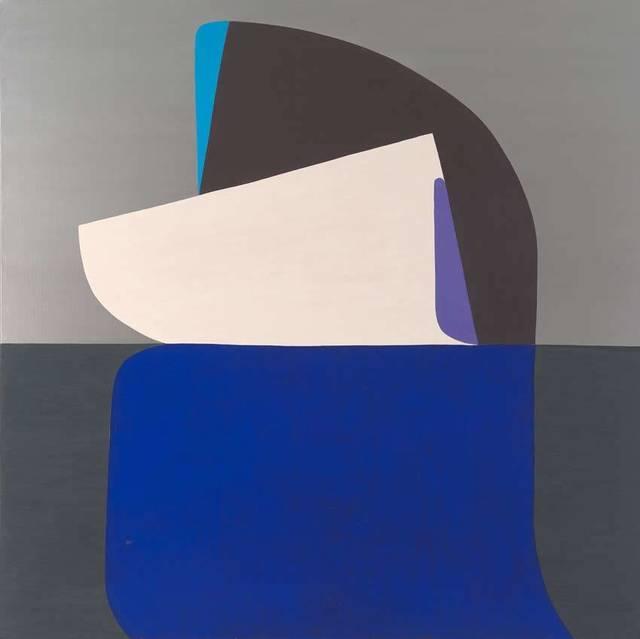 , 'Black Wave,' 2016, OLSEN GALLERY