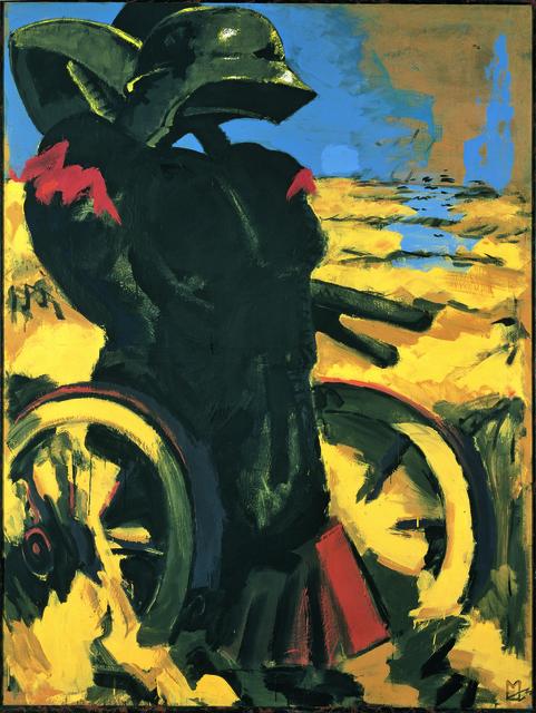 , 'Schwarz Rot Gold I - dithyrambisch,' 1974, Musée d'Art Moderne de la Ville de Paris