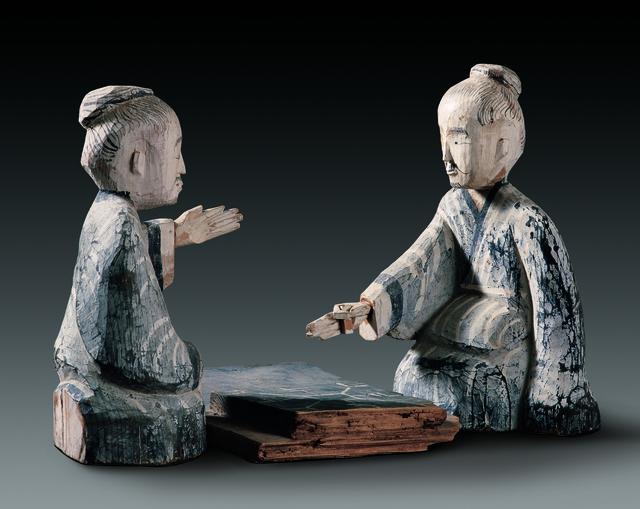 'Luibo players', 206 BC -220 AD, Musée national des arts asiatiques - Guimet